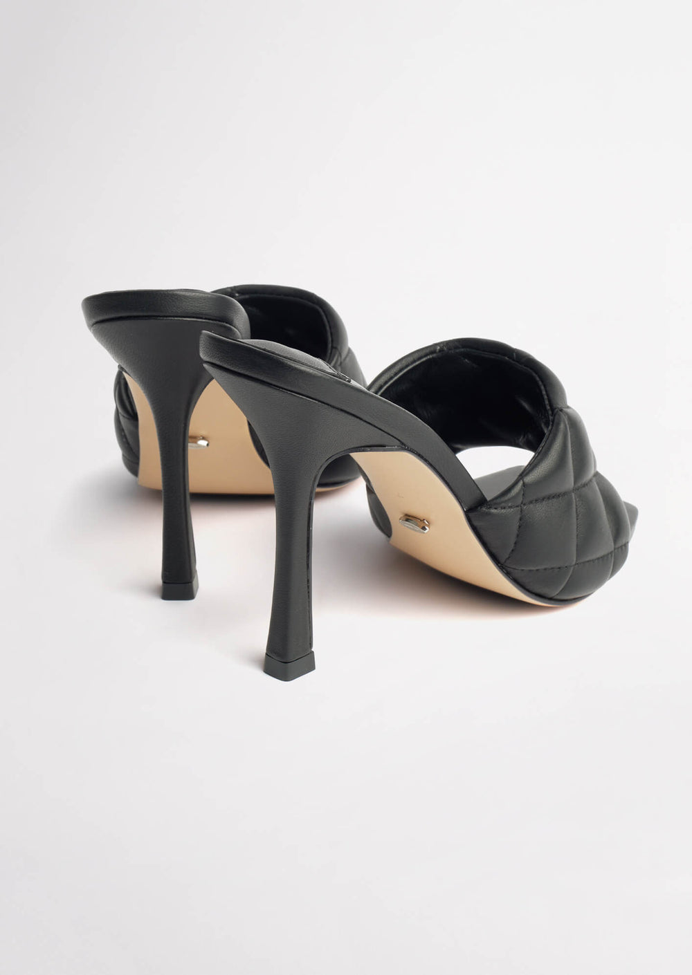 Betty Black Sheep Nappa Heels