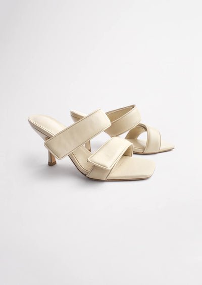 Bounty Vanilla Sheep Nappa Heels