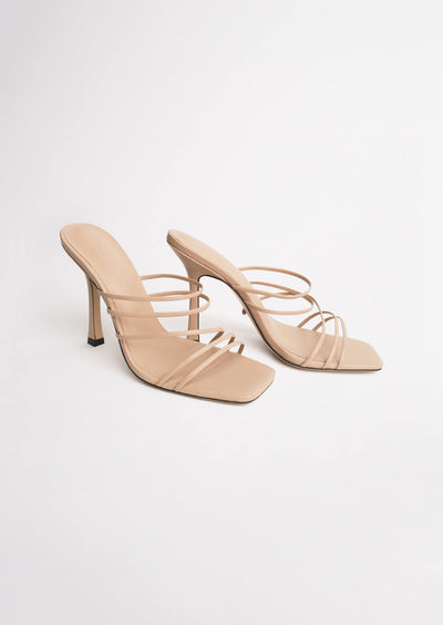 Foxie Skin Sheep Nappa Heels