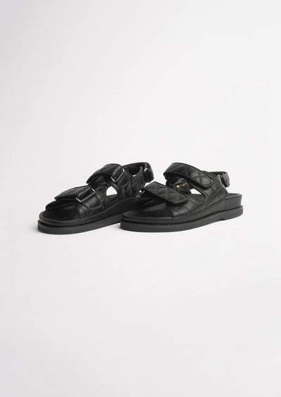 Hiranni Black Sheep Nappa Sandals