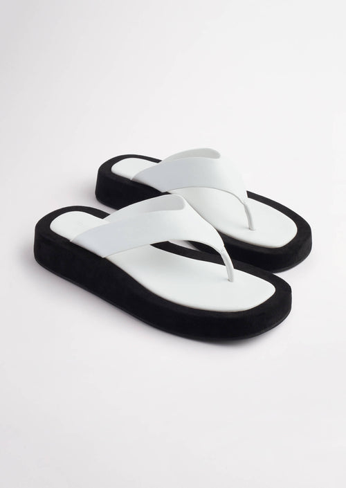 Ives Milk Capretto Sandals