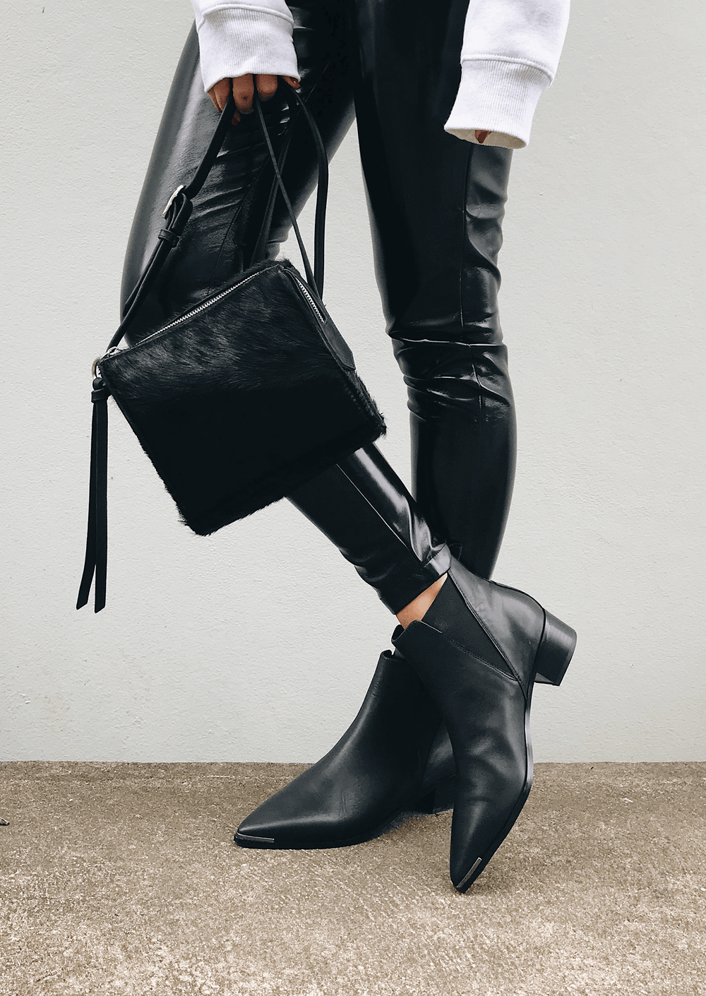 Jazz Black Como Ankle Boots