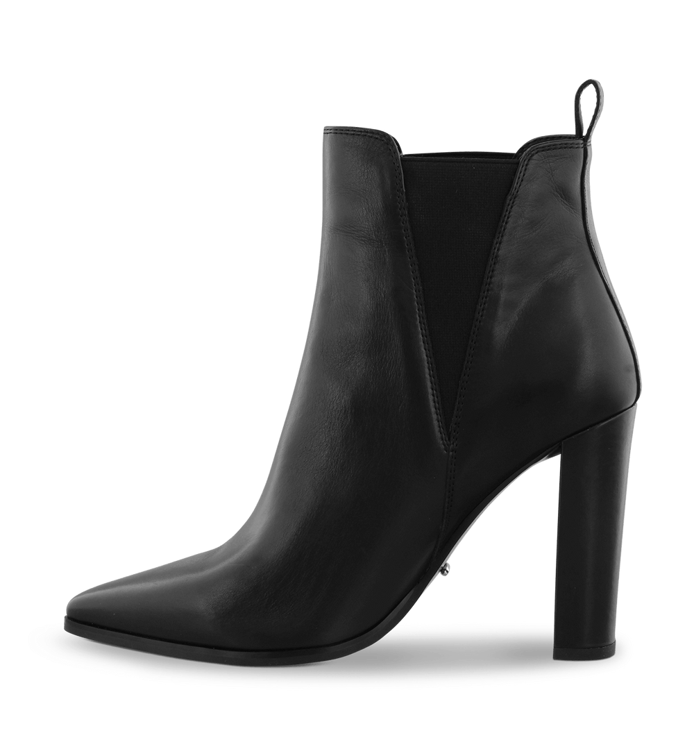 Leigh Black Como Ankle Boots