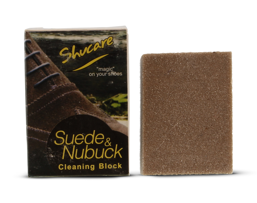 Suede & Nubuck Cleaning Block  Shoe Care