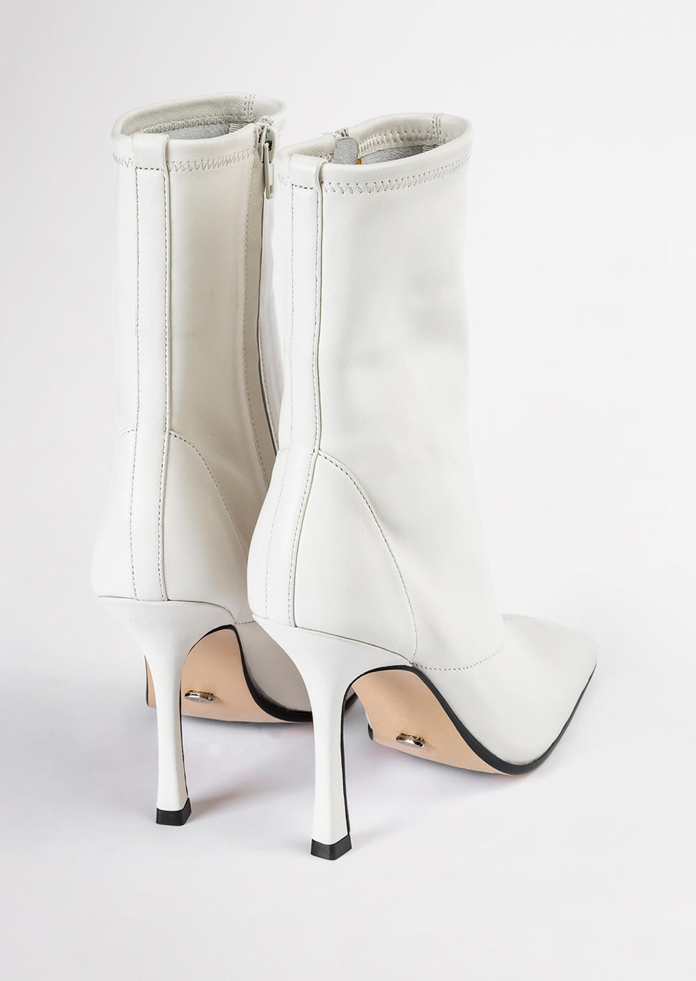 Halsey Dove Jewel Ankle Boots