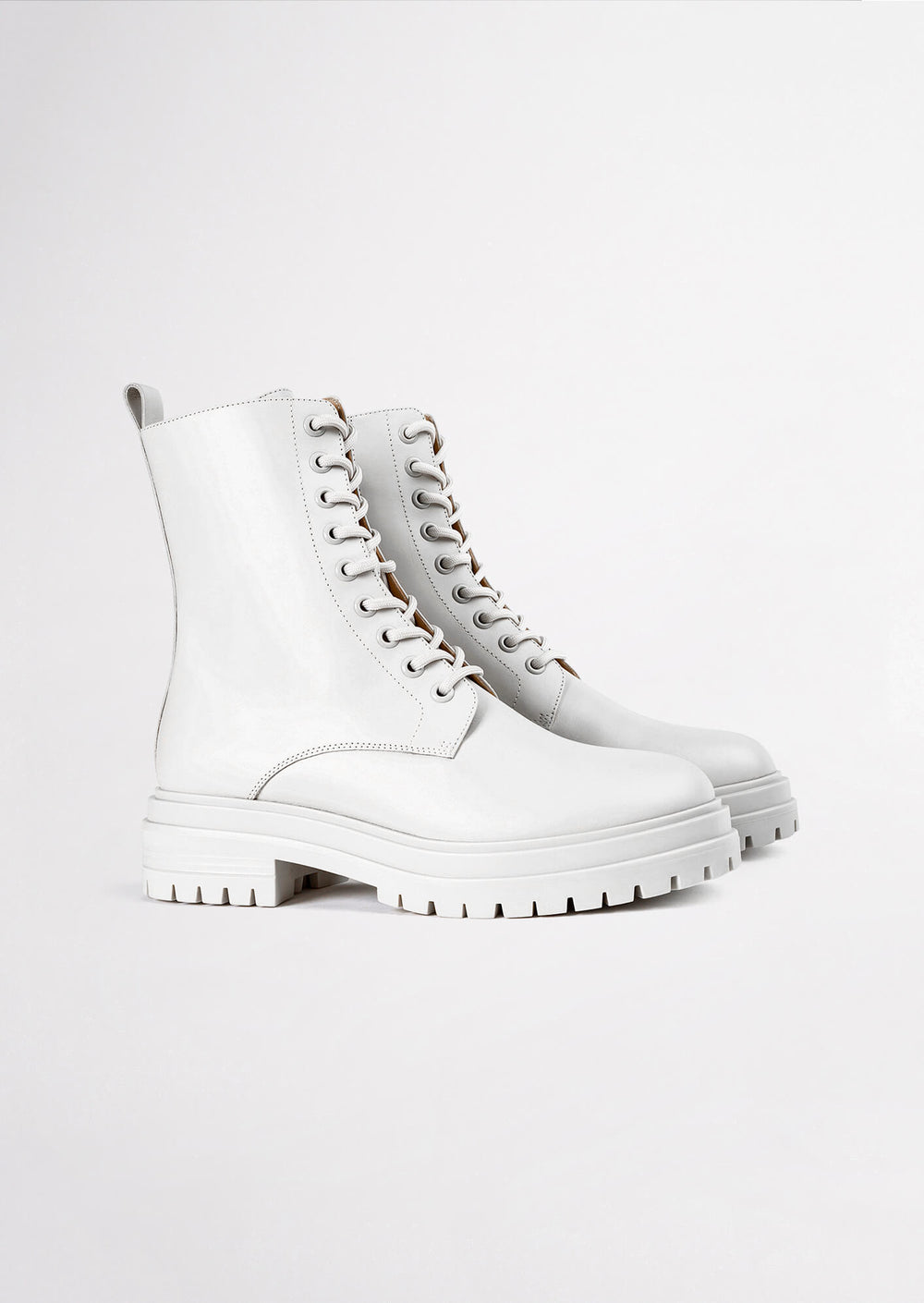 Wya Milk Capretto Ankle Boots