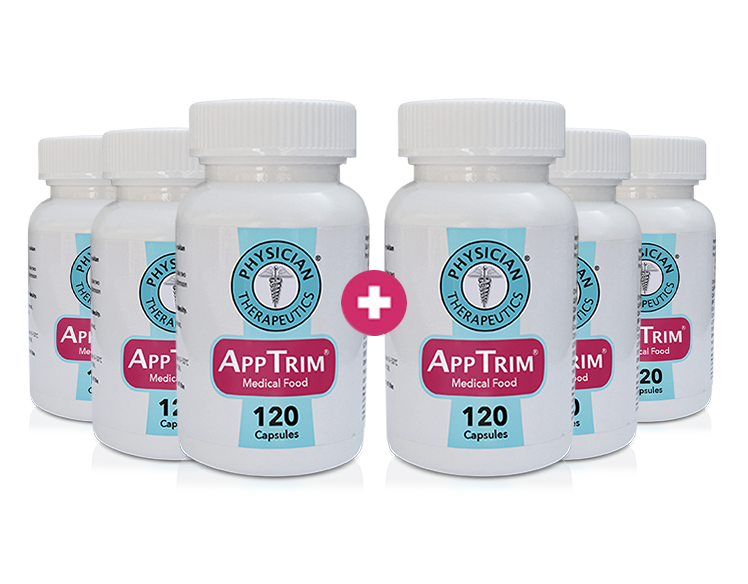 AppTrim® 6 Month Supply - (Buy 3 Get 3 FREE + FREE SHIPPING)