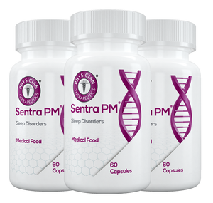 Sentra PM® | (3 Month Supply Veteran Discount 30%) Sleep dysfunction from chronic pain, depression and PTSD