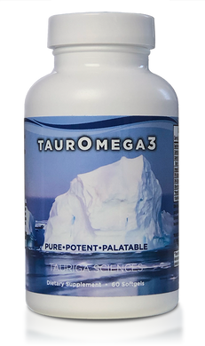 TaurOmega 3 - Advanced Fish Oil (1 month supply)