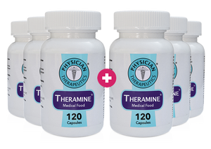Theramine® 6 Month Supply - (Buy 3 Get 3 FREE + FREE SHIPPING)