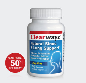 Clearwayz® -  for sinus, respiratory and immune function (Save 50% / dietary supplement)