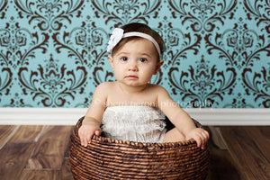 White Leah Jewel Headband