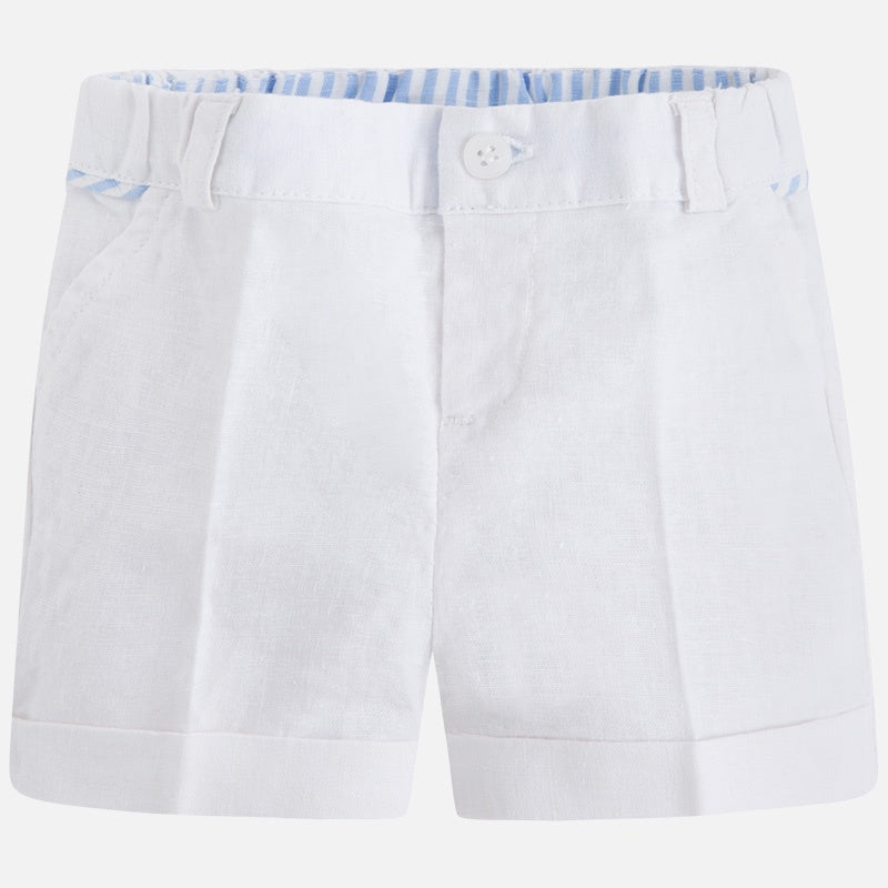 Mayoral Linen Boy Shorts