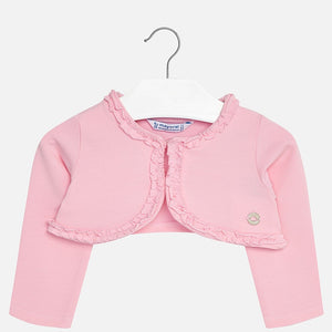 Mayoral Pink Short Cardigan