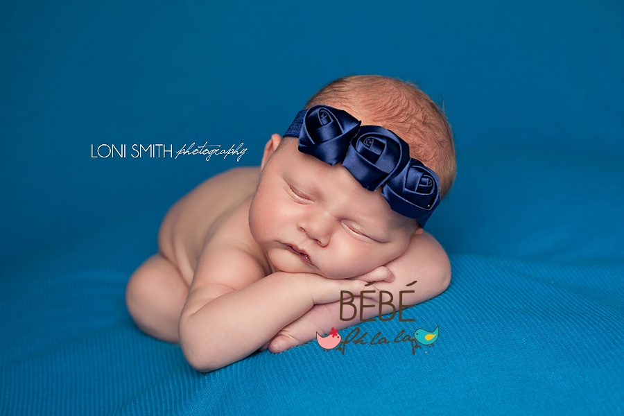 Royal Blue Emma Headband