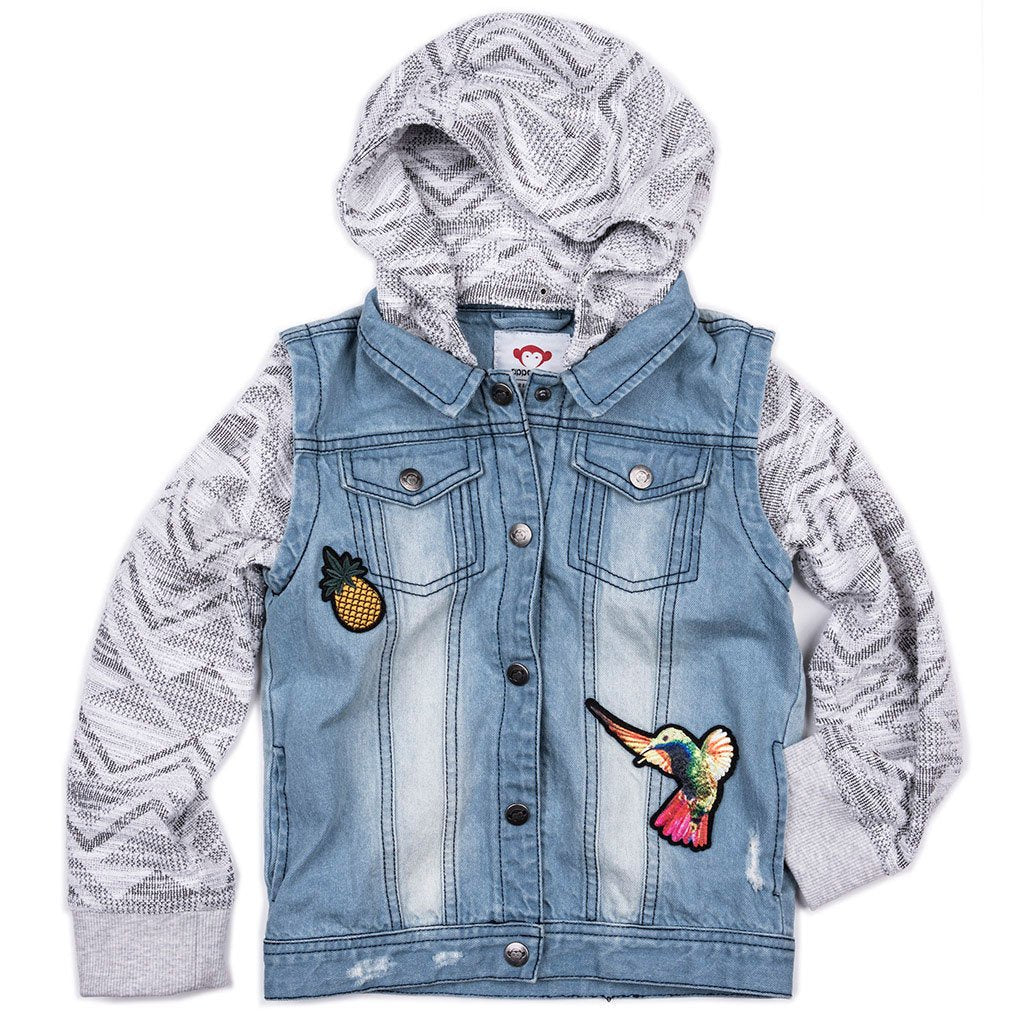 Appaman GIRLS CONVERTIBLE JACKET