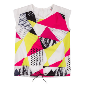 Deux Par Deux SO SAFARI! PRINTED TOP