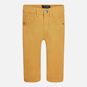Mayoral 5 Pockets Twill Trousers Ocher