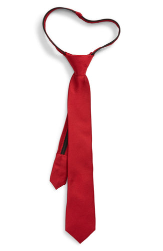 Red Zipper Tie