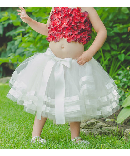 Red Hydrangea Tube Top