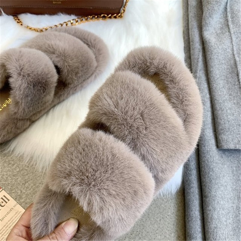 Women's Fluffy Slippers