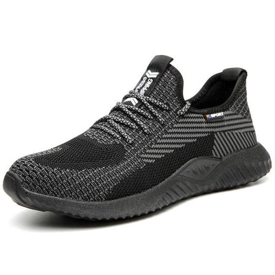 Flyknit Vamp Safety Shoes