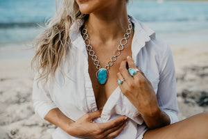 Larimar Stone Meaning and Healing Properties of Larimar Jewelry