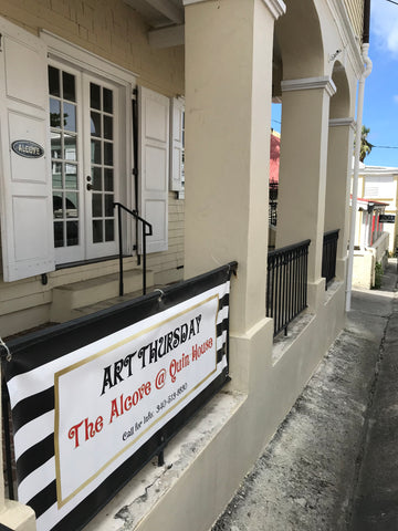 Art Thursday Christiansted, St. Croix
