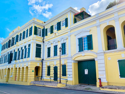 Government House in Christiansted, St. Croix