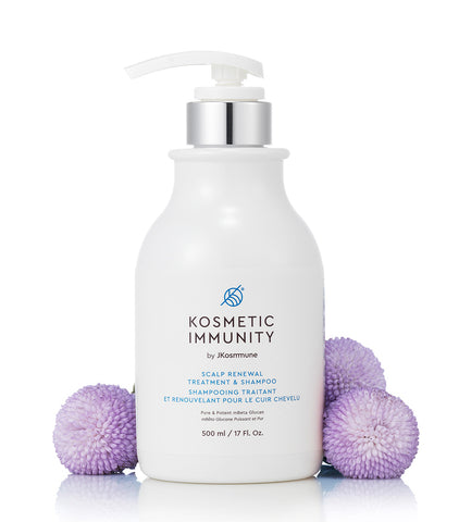 Kosmetic Immunity mBeta Glucan Scalp Renewal Treatment & Shampoo