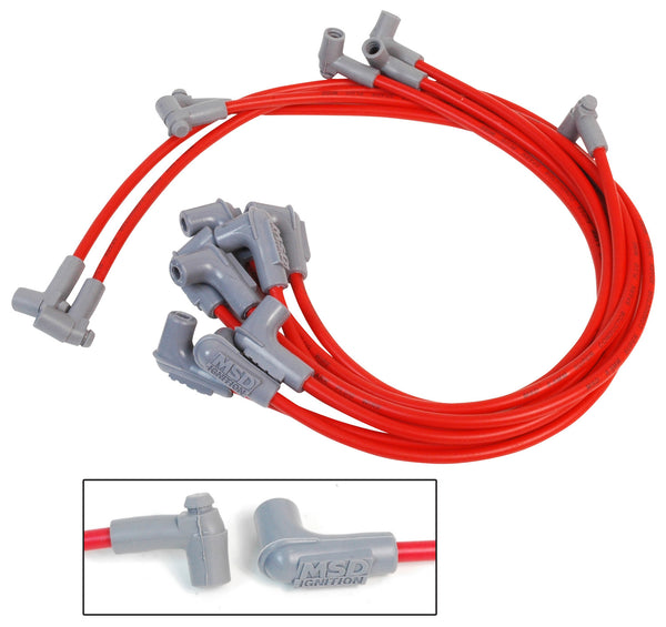 SUPER CONDUCTOR SPARK PLUG WIRE SET, SMALL BLOCK CHEVY 350 HEI-31359