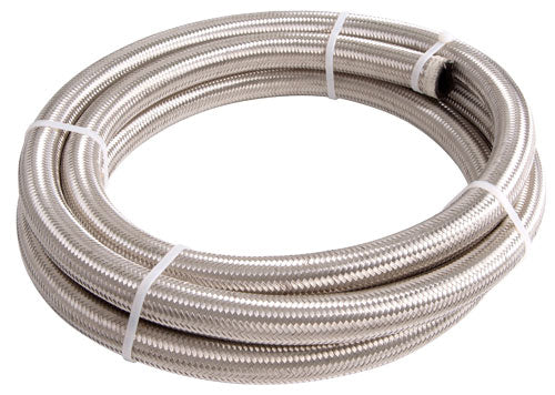 AF100-08-6M - 100 Series Stainless Steel Braided Hose -8AN