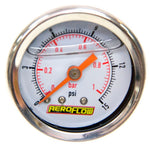 "AF30-2002 - 1-1/2"" Liquid Filled 15 psi Pressure Gauge"