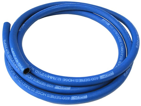 AF400-04-7.5M - 400 Series Push Lock Hose -4AN (Blue)