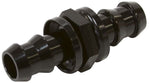 AF410-10BLK - Male to Male Barb Push Lock Adapter -10 to -10