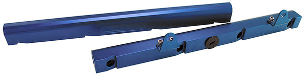 AF64-2005 - Billet EFI Fuel Rail Kit suit Chev LS1 - Blue