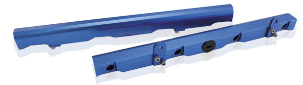 AF64-2006 - Billet EFI Fuel Rail Kit suit Chev LS2/LS3 - Blue