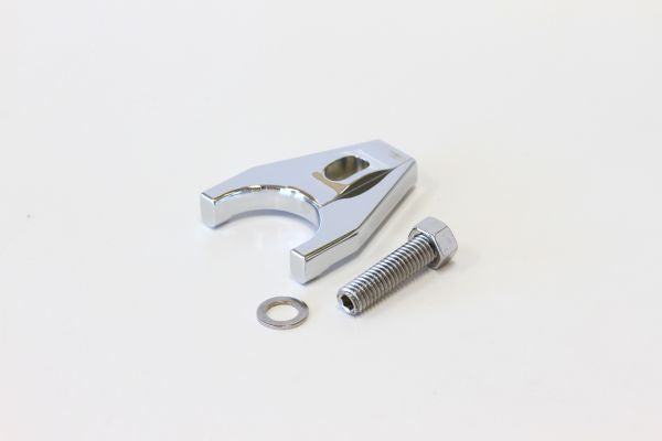 AF64-2032C - Billet Distributor Hold Down Clamp - Chrome