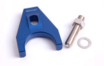 AF64-2032 - Billet Distributor Hold Down Clamp - Blue