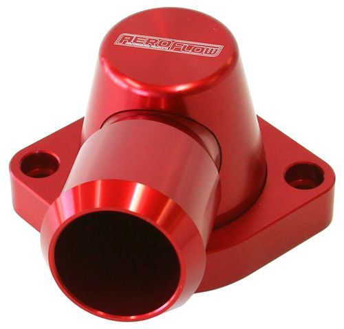 AF64-2092R - Billet Thermostat Housing - Red