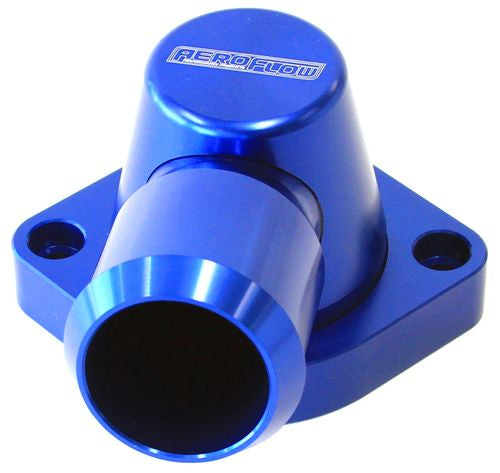AF64-2092 - Billet Thermostat Housing - Blue