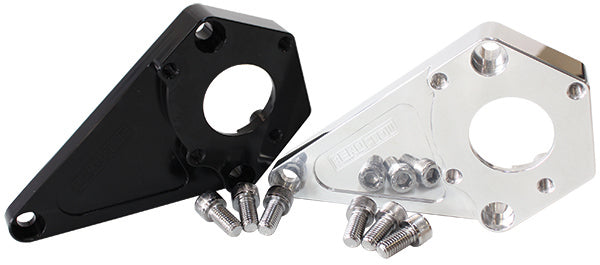 AF64-4026BLK - LS Series Billet Power Steering Bracket - Black