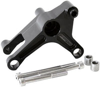 AF64-4027BLK - Black LS Series Billet Alternator Bracket - LHS