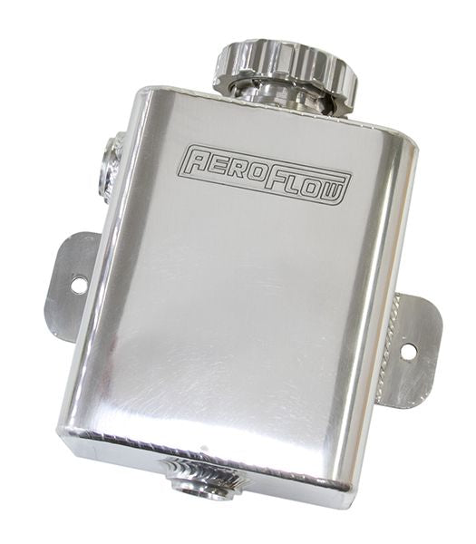 AF77-1026 - Fabricated Square Radiator Expansion Tank - Polished