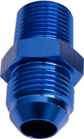 "AF816-06-02 - NPT to Straight Male Flare Adapter 1/8"" to -6AN"