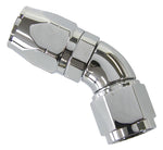 AF-882-06 - 880 Elite Series Full Flow Cutter Swivel 45° Hose End -6AN
