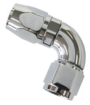 AF883-08 - 880 Elite Series Full Flow Cutter Swivel 90° Hose End -8AN