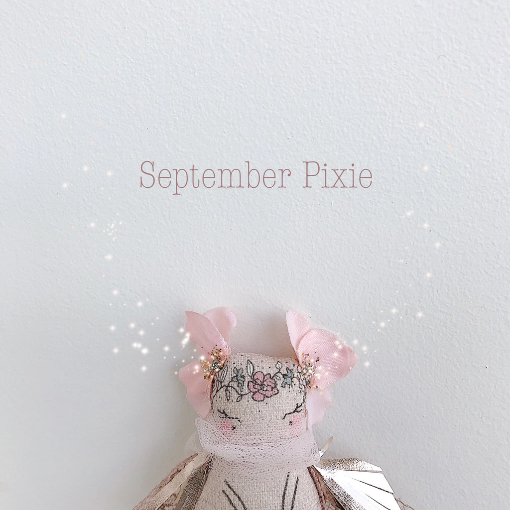 Collectible Wish Pixie - 'September'