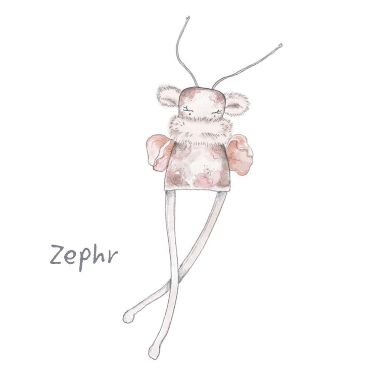 Wall Decal - Pixie - 'Zephr'