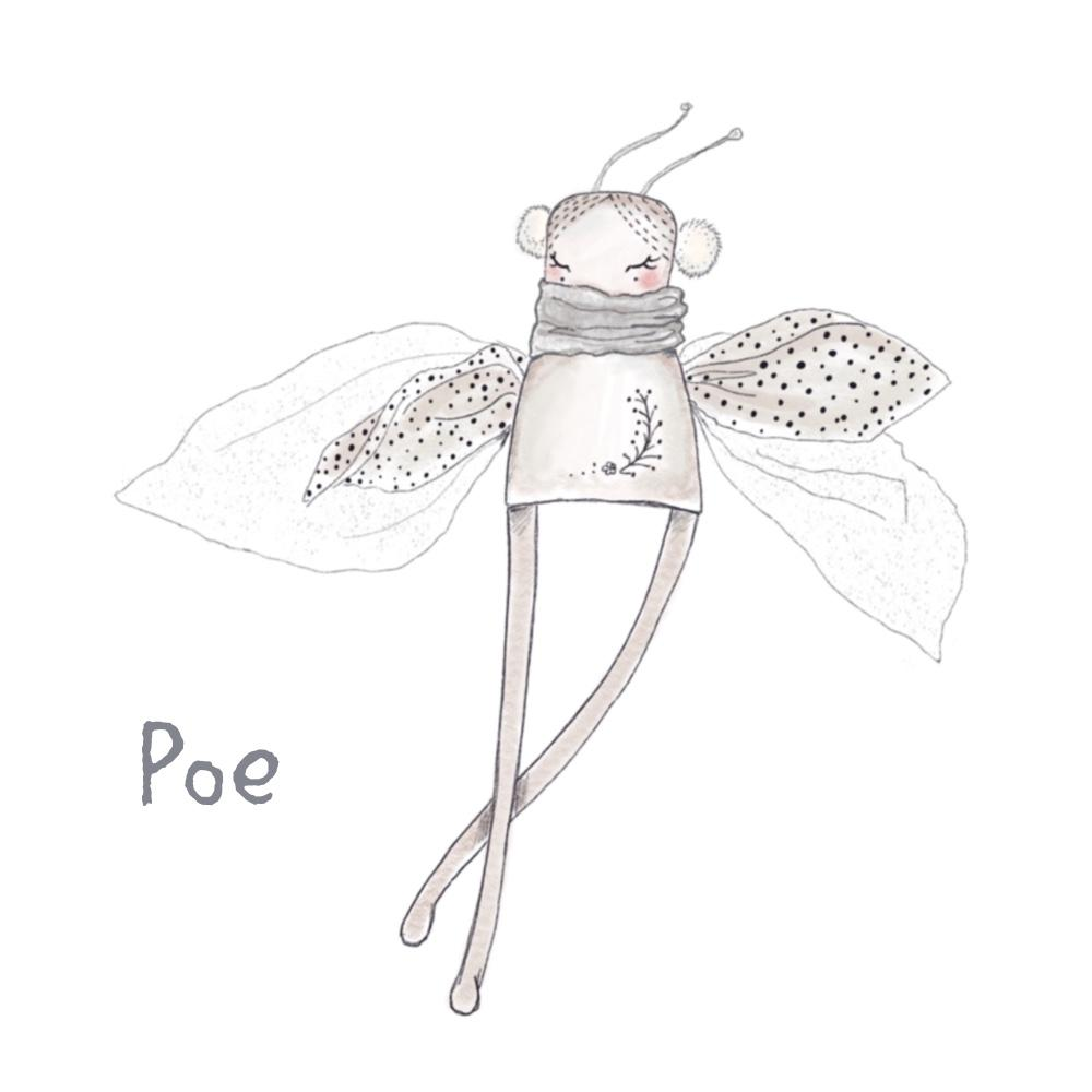 Wall Decal - Pixie - 'Poe'